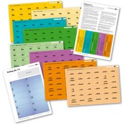 Das Silben-Zahlen-Spiel: Schlag die 12! (Bastelvorlage)
