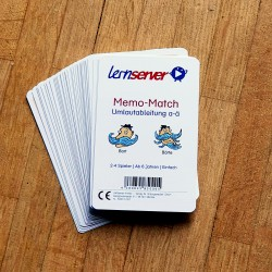 Lernserver-Spiel Memo-Match (Umlautableitung a-ä)