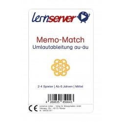 Lernserver-Spiel Memo-Match: Umlautableitung au-äu, mittel, ohne Bild