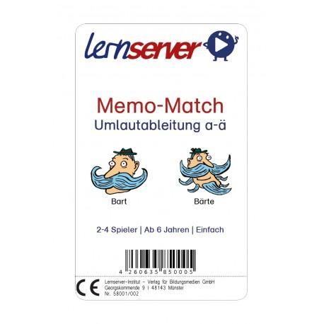Memo-Match (Umlautableitung a-ä)